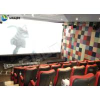 Large Capacity 4DM Motion Chair 4D Movie Theatre With Special Effect Control System Manufactures