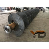 Thick-walled shafts Sand Washing Machine Spiral Simple structure Long service Manufactures