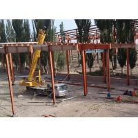 Quality Wire Mesh Roof Steel Frame Warehouse , Welded Industrial Steel Buildings for sale