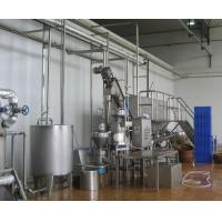 Quality SUS304 Auto Drink Making Machine / Soya Milk Plant With 6-9 Months Shelf Life for sale