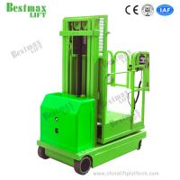 China 4.5m Self Propelled Electric Order Picker Stacker For Materials Picking And Handling on sale