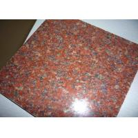 Hotel Lobby Imperial Red Granite Floor Tiles , 12 Inch Granite Tile Size Optional Manufactures