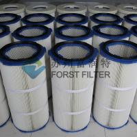 China FORST Industrial Polyester Fiber Paper Air Filter Media Dust Filter Cartridge wholesale