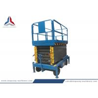 500kg Capacity Mobile Scissor Lift Table with 12m Platform Height Manufactures
