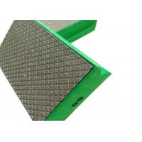 Electroplated Diamond Tools Electroplated Diamond Pads Green , Red , Yellow , White Color Manufactures