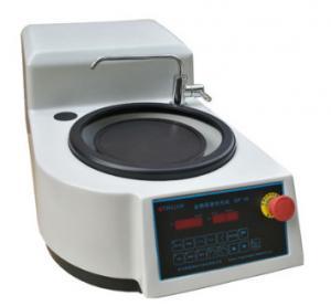 China 550W Metallographic Grinding And Polishing Machine Optional Buttons Operation Panel on sale