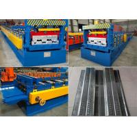 Aluminum Floor Deck Roll Forming Machine , Shutter Door Roll Forming Machine Manufactures