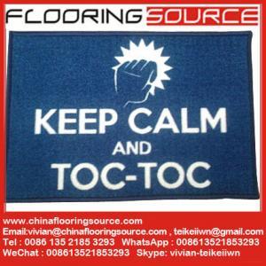 Printed nylon area rugs nylon fiber TPR anti slip backing custom size and shape Machine washable Manufactures
