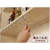 Wall Mountd Metal Kitchen Accessories Easy To Install With Glass Hanger Manufactures