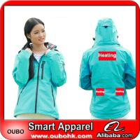 Softshell jacket With Automatic Battery Heating System Electric Heating Clothing Warm OUBOHK Manufactures