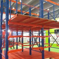Full Easy Assembled Mezzanine Floor Racking System Steel Material For Cold Room Manufactures