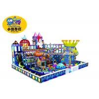 China Fun Plastic Soft Indoor Playground Equipment Non - Toxic Easy To Install on sale