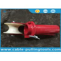 China Cable Laying Equipment , Underground Cable Tools Canble Roller Steel Bellmouths With Roller on sale