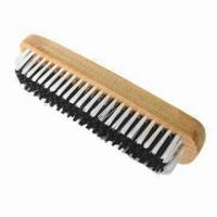 Wooden shoe scrub brush for home daily use Manufactures