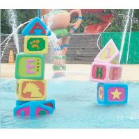 Kids Spray Park Equipment Aqua Playground Spray Building Block Manufactures