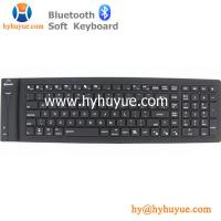 China Bluetooth New 109 keys Silicon PC/Tablet/Laptop/Smartphone Keyboard Flexible & Waterproof on sale