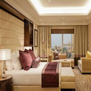Buy cheap Five Star Luxury Hotel Bedroom Furniture Sets MDF / Plywood Veneer from wholesalers