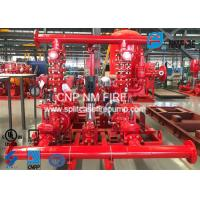 High Prcision Fire Water Pump Package , Fire Pump Skid Package 500GPM@105PSI Manufactures