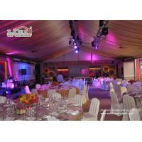 White Outdoor Event Tents for Wedding Receptions , Wedding Marquee Manufactures