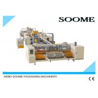 Fully Automatic Corrugated Box Stitching Machine Simple Operation High Speed 800 Nail / Min Manufactures