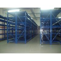 blue metal shelves Anti - rust medium duty shelving with spray paint finished Manufactures