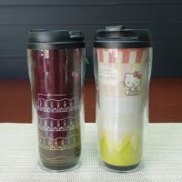 Quality PP Plastic Change Color Frozen  Kids Coffee Mugs Black Red Yellow White for sale