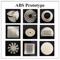 ABS Prototype Plastic Mold Parts High Toughness Low Friction TS Certification Manufactures