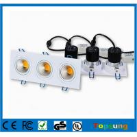 3X6W Recessed ceiling led downlight 90lm/w 2 years warrranty Manufactures