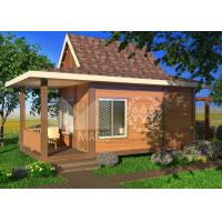 China Sandwich Panel Structure Ready Made Cottages , Prefabricated Steel Frame Homes on sale