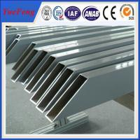Popular design and good surface greenhouse aluminum profile supplier Manufactures