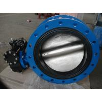 Professional Reliable Seal Center Line Flanged Butterfly Valve with PTFE / VITON Seat Manufactures