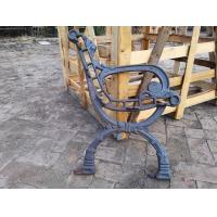 Antique OutdoorCast Iron Bench Ends For Garden Chair , Iron Park Bench Ends Manufactures