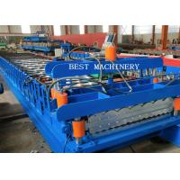 Double Layer Corrugated Steel Sheet Making Roll Forming Machine Manufactures