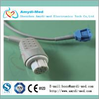 Buy cheap Datex ohmeda spo2 adapter cable,round 10pin to 8pin female from wholesalers