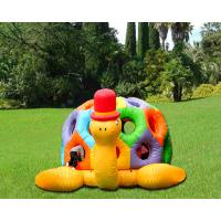 China Cartoon Tortoise Inflatable Bouncer Kids Jumping Castle Structures Gonflables on sale