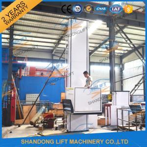 China 250kgs 4M Wheelchair Platform Lift Elevator Disable Wheelchair Lift Platform for Home Use on sale