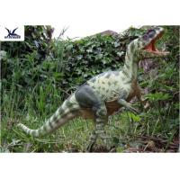 Moving Realistic Dinosaur Statues Model For Dinosaur World Museum Display Manufactures