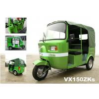 Quality 150/175cc Gasoline rear water cooled engine 3 wheeler tricycle autorickshaw for sale