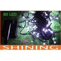 Low Power 80pcs 18 Watt Christmas LED String Light , Dimmable Waterfall Light Manufactures