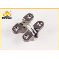 180 Degree Invisible Folding Door Hardware For Jewelry Boxes , Itatly Type Adjsutable Door Hinge Manufactures