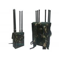 China 800-2700MHz Manpack Jammer Block Lojack Wifi GPS With 120m Range , 8 Channels on sale