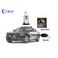 Small Wireless Outdoor Vehicle PTZ Camera Set 720P AHD Signal 1 Year Warranty Manufactures
