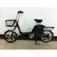 18 Inch Electric Motorized Bicycle with 48V 12A Lead Acid Rechargeable Battery Manufactures