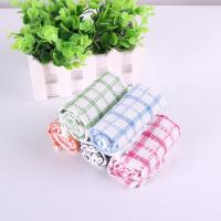 Kitchen Yarn Dyed Towels Stripes Printed Tea Towels With Colorful Checkered For Dry Pot Manufactures