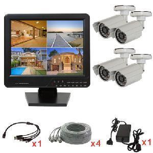 4CH CCTV Home Security DVR Camera Kit with Bullet Camera (ELP-DVR1504C-6037) Manufactures