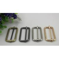 ECO -friendly multi-color 50 mm iron metal adjustable buckle for bag belt fittings Manufactures