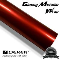 Glossy Metallic Car Wrapping Film - Glossy Metallic Red