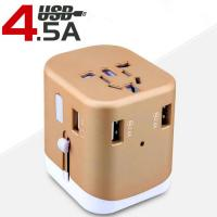8 Holes USB Table Hub Multi - Country Global Travel Conversion Plug Charger Manufactures