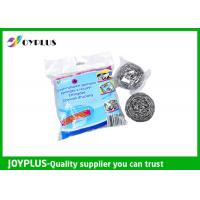 High Density Kitchen Cleaning Pad Metal Scrub Pad 4 Pack Easy Operation Manufactures