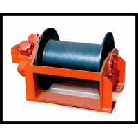 custom built 1-100 ton hydraulic powered ladder winch dredger winch Manufactures